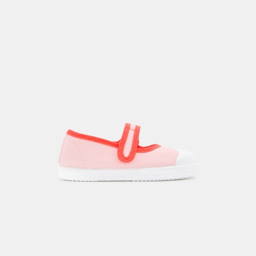 Baby girl canvas Mary Janes