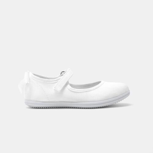 Pantofi de fetite din panza Mary Jane