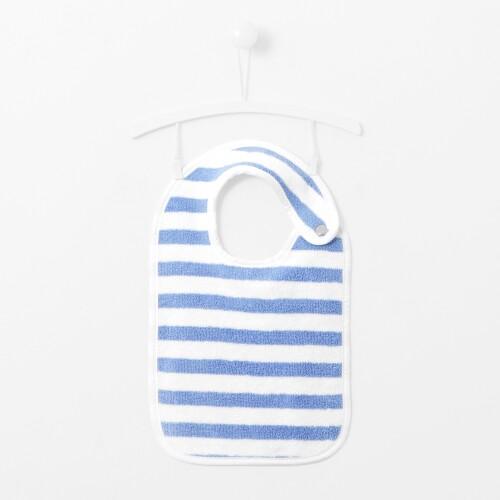 Striped bib