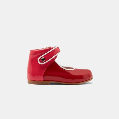 Pantofi colorblock Mary Janes fete mici