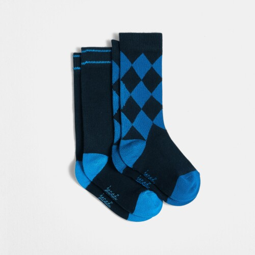 Boy tube sock duo