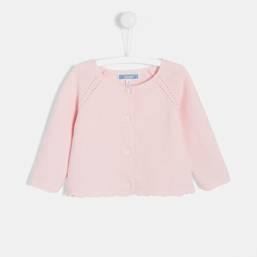 Cardigan tricotat pentru fetite
