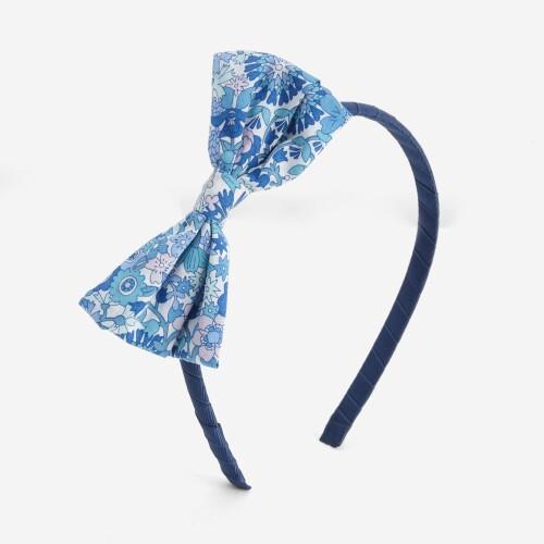 Girls' headband with Liberty bow