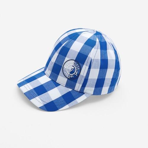 Boy gingham baseball cap