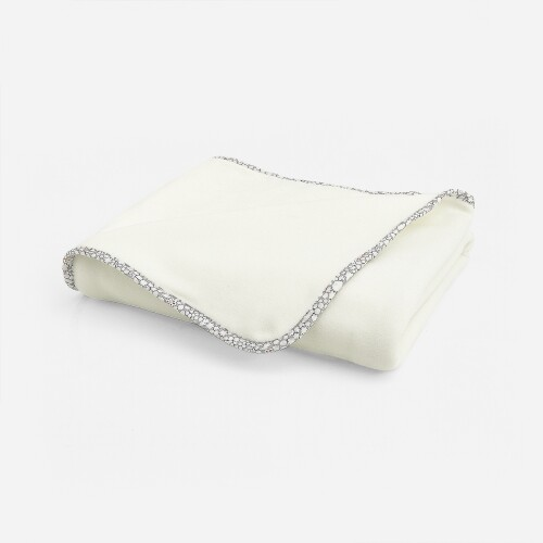 Liberty print polar fleece blanket