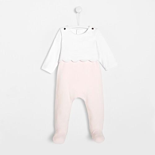 Pijamale cu picior bebelusi fete