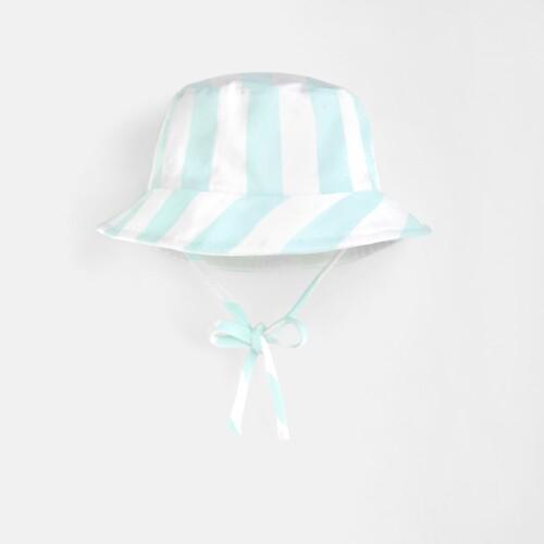 Toddler boy striped hat
