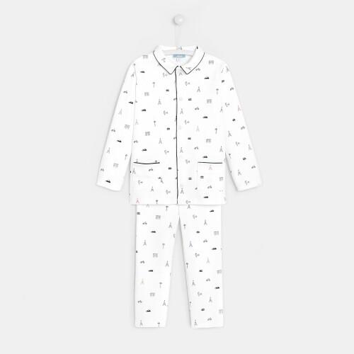 Pijama monumente baieti