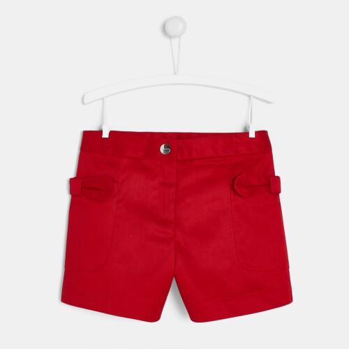 Pantaloni scurti din gabardina pentru fete