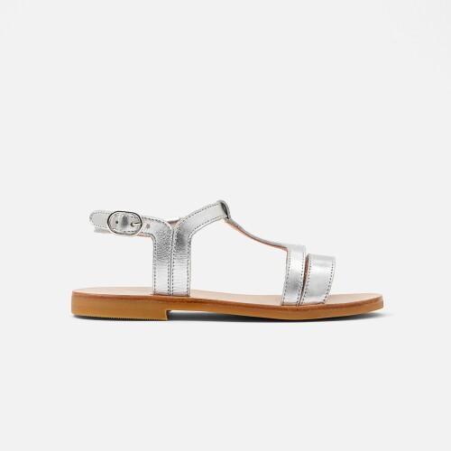 Sandale pentru fete din piele