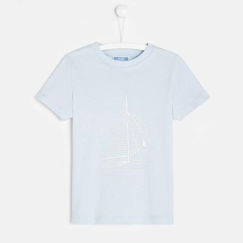 Boy t-shirt with boat motif
