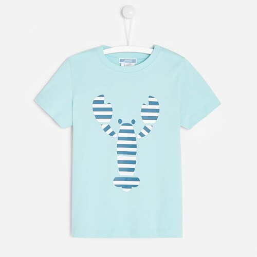 Boy t-shirt with lobster motif