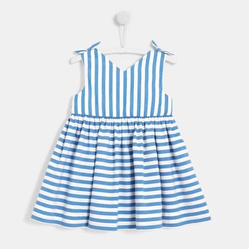 Toddler girl striped dress