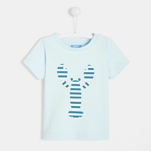Toddler boy t-shirt with lobster motif