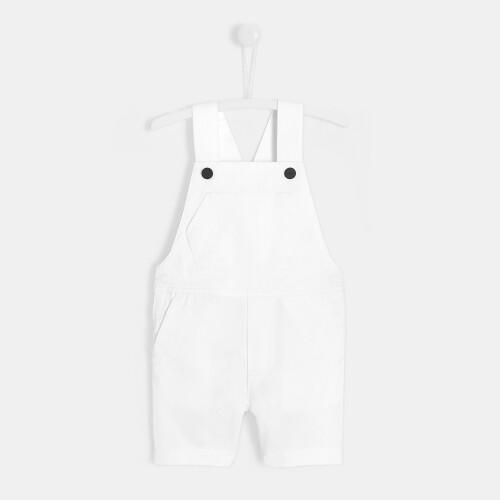 Toddler boy short overalls