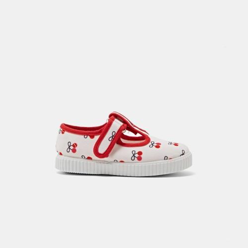 Sandale de fetite din panza
