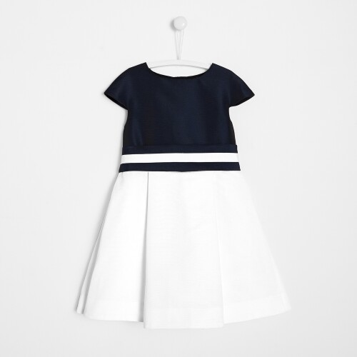 Girl colorblock dress