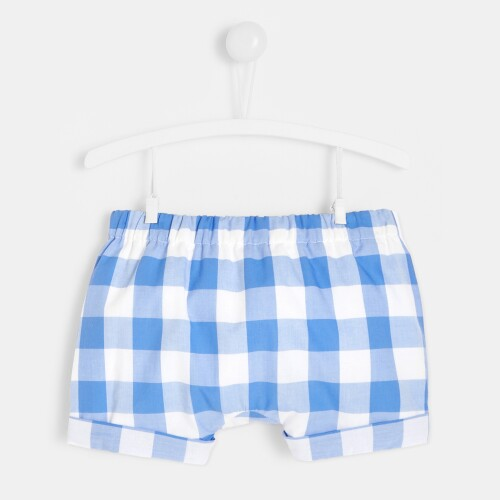 Baby boy gingham bloomers