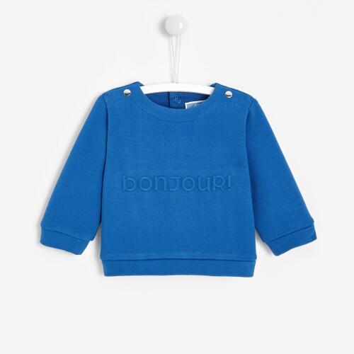 Baby boy fleece sweatshirt