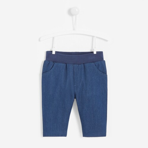 Baby boy jersey-lined jeans