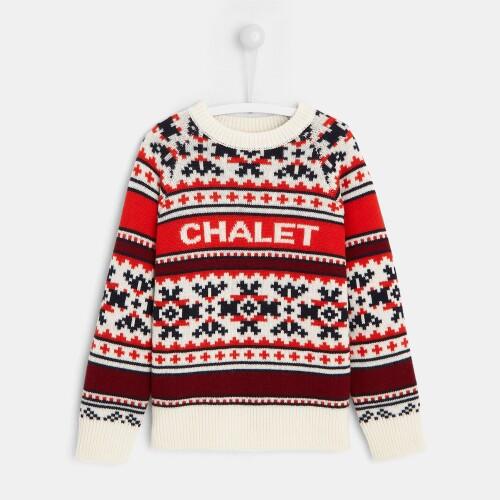 Boy jacquard sweater