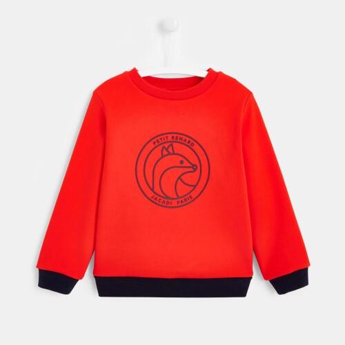 Boy lined sweatshirt
