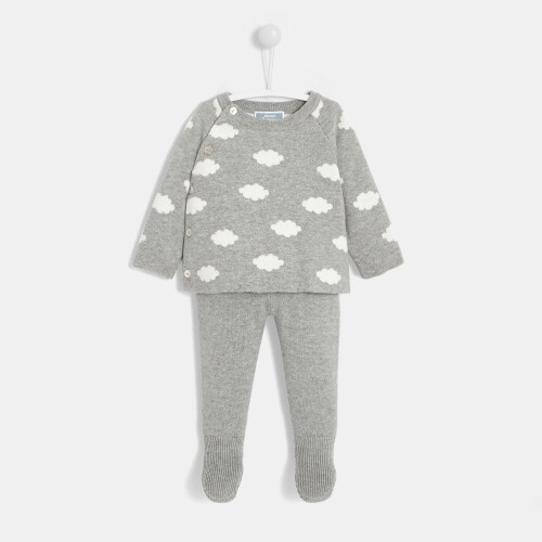 Baby boy jersey set