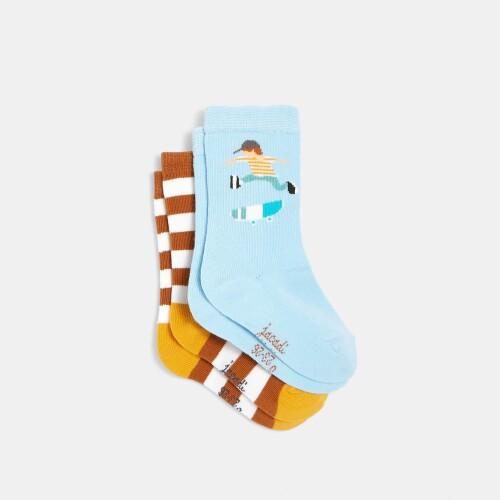 Boy sock pair duo