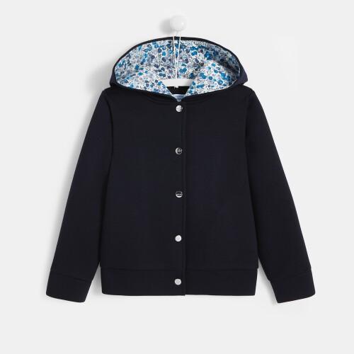 Girl hooded sweatshirt
