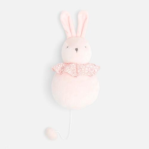 Musical rabbit plush toy