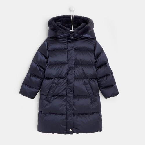 Girl full-length puffer jacket
