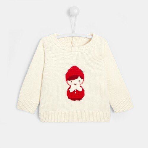 Baby girl Little Red Riding Hood sweater