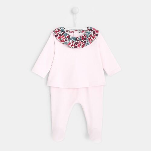 Baby girl fleece set