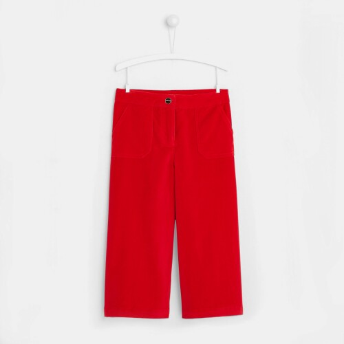 Girl wide-leg pants