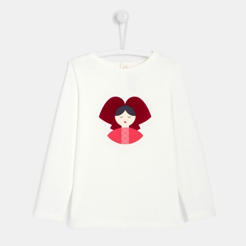 Girl printed t-shirt