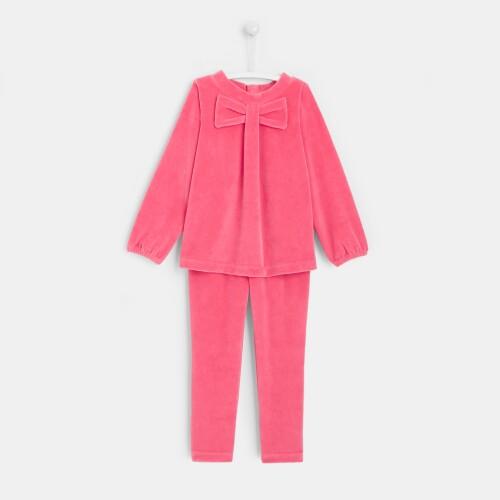 Girl velvet pajamas