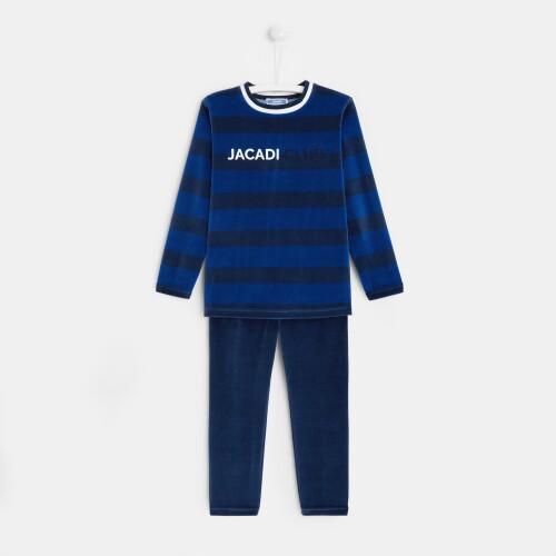 Boy velvet pajamas