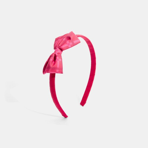 Girl headband with little bow
