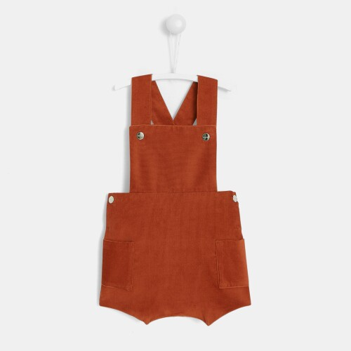 Baby boy ribbed corduroy bloomers
