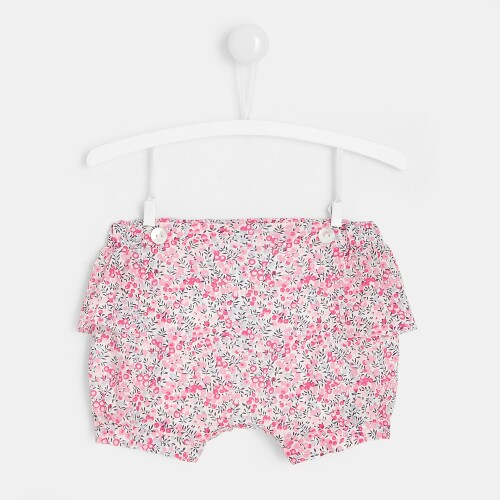 Baby girl Liberty print shorts