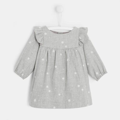 Baby girl flannel dress