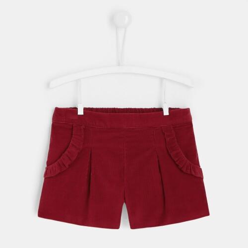 Toddler girl corduroy shorts