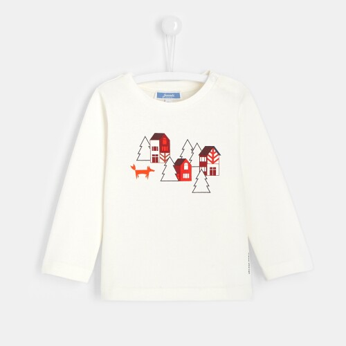 Toddler boy T-shirt with landscape print