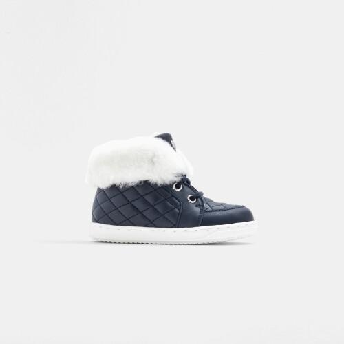 Baby girl pre-walker lined sneakers