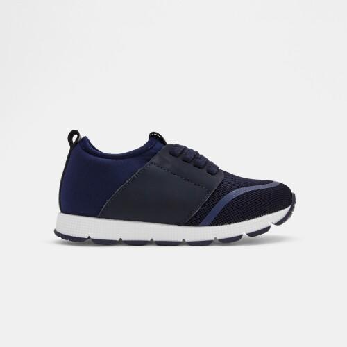 Boy running sneakers