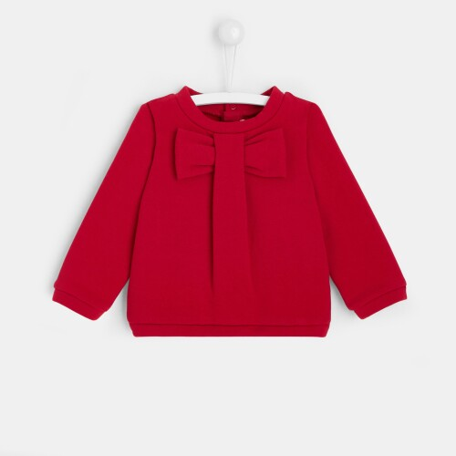 Toddler girl fleece sweatshirt