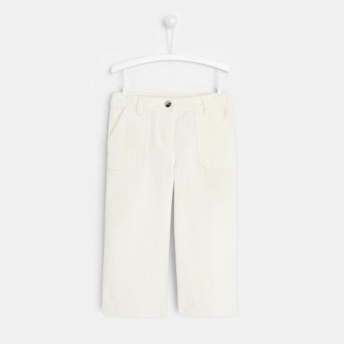 Girl ribbed corduroy pants