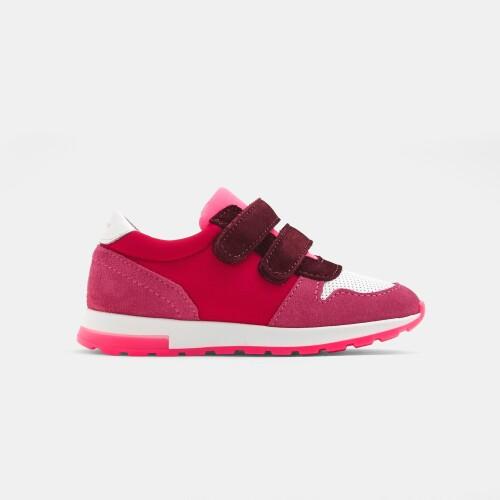 Girl running sneakers