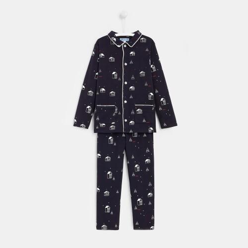 Boy little chalet pajamas