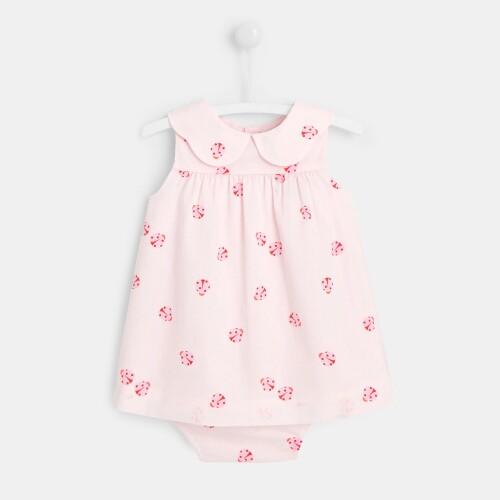 Baby girl little ladybug dress